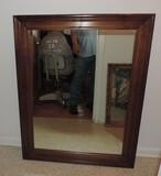 Oak Wall Mirror