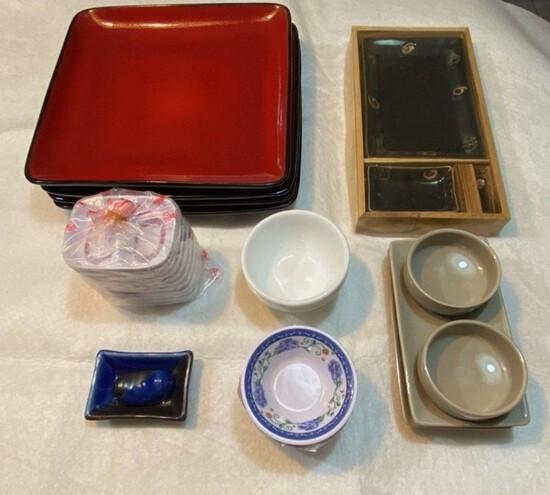 Set of Asian-Serving Pieces