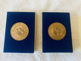 Two 1776 Continental Commemorative Coins