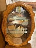 Lot of Two Oak Mirrors