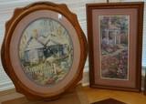 Framed Victorian-Style Art