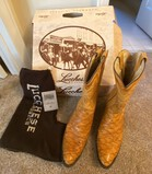Pair of Lucchese Classic Handmade Boots