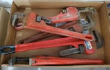 Pipe-Wrench Lot