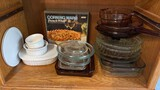 Lot of Glass Bakeware