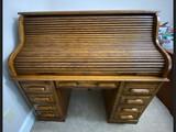 Rolltop Oak Desk