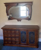 Pulaski Furniture's Apothecary Collection - Dresser with Matching Mirror