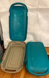 Rubbermaid Rolling Totes