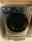 Kenmore Elite HE 3t Washing Machine with Pedestal