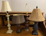 Lot of Assorted Lamps