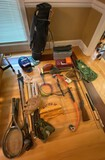 Lot of Assorted Sporting Items