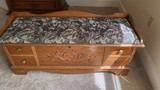Lane Cedar Chest with Upholstered Seat