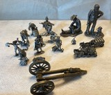 Lot of Metal Army and Other Figurines