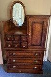 Pulaski Furniture's Apothecary Collection - Chest of Drawers with Mirror and Door