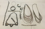 Lot of Assorted Silver Jewelry