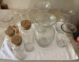 Large Lot of Assorted Vases and Jars