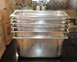 Lot Of 1/3 Stainless Pans