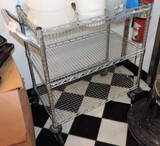 Kitchen Wire NSF Rolling Cart