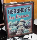 Light Up Plastic Hersey's Ice Cream Sign