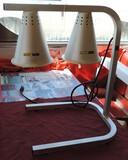 Adcraft Double Shade Heat Lamp