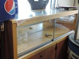 Display Case With Cabinet Bottom