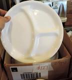24 Corelle Divided Plates