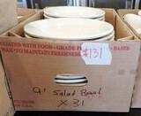 31 Hommer Laughlin China White Restaurant China Salad Bowls