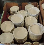 80+ Pcs 3 Different Named White Restaurant China Ice Cream Bowls