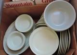 66 Pcs Mixed Lot Prolong Ware Plastic Dishes