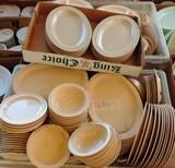 100+ Pcs Prolong Ware Plastic Dishes