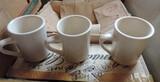40+ White Restaurant Coffee Mugs