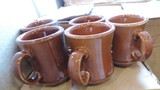 30 Coffee Mugs, Brown & White
