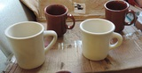 26 Coffee Mugs, Brown & White