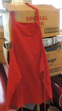 Lot Of 24 Red Full-Length Aprons