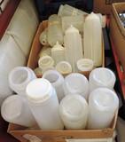 20 + Clear Squeeze Dispenser Bottles