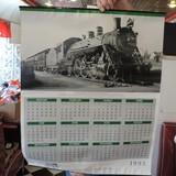 Southern Railways Railroad Poster/1995 Calendar