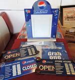 Pepsi Advertising Restaurant Signs
