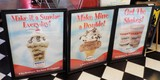 3 Framed Hershey's Ice Cream Advertising Posters