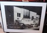 Black & White Print Of Conova Movie Theater