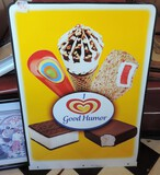 Good Humor Ice Cream Metal Sign Double Sided