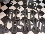 Lot Of Metal Letters Off The Original Shells Restaurant