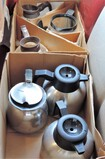 Lot Of 4 Stainless Maxwell House Coffee Carafes