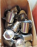 Lot Of 25+ Stainless Creamers
