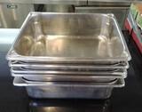 6 Half Stainless Steel Steam Pans