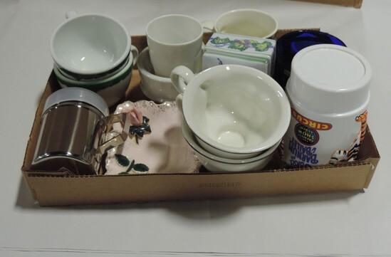 Box Lot Misc. Mugs & Giftware