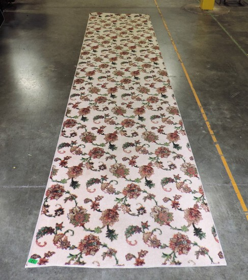 Machine Made All Over Floral Runner