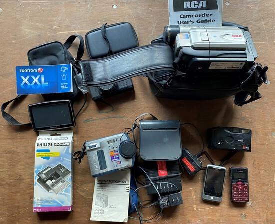 Box Lot Cameras, TomTom GPS & More