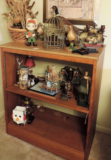 Shelf With Contents