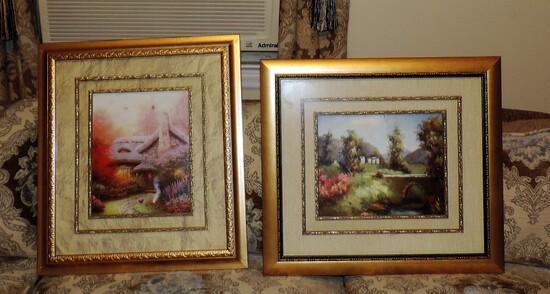 2 Framed Color Prints