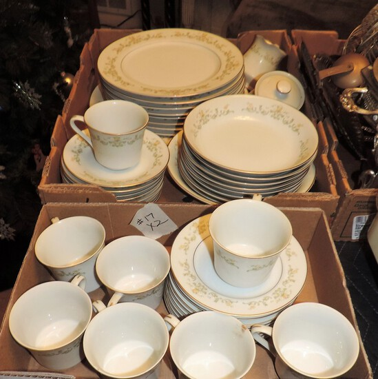 Set Of Cotillion Golden Regal Japan Forty-Eight-Pieces of China