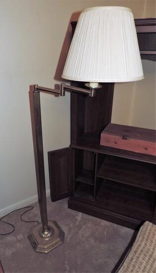 Brass Pole Lamp